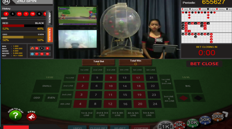 Live Games 24D - CARA BERMAIN 24D SPIN POOLS GAMES