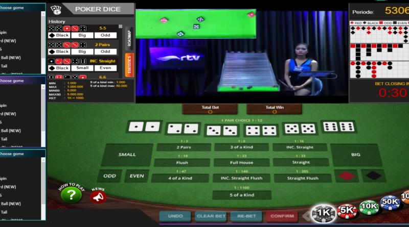 Cara Bermain Poker Dice Online Totosaja