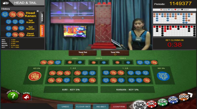 Panduan Bermain Head Tail Live Games Totosaja