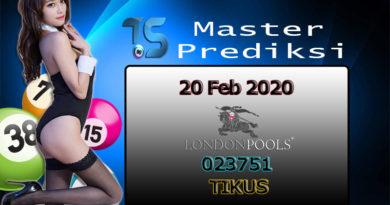 Prediksi Togel LONDON 20 Februari 2020
