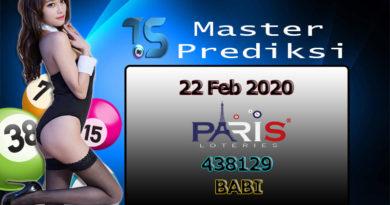 Prediksi Togel PARIS 22 Februari 2020