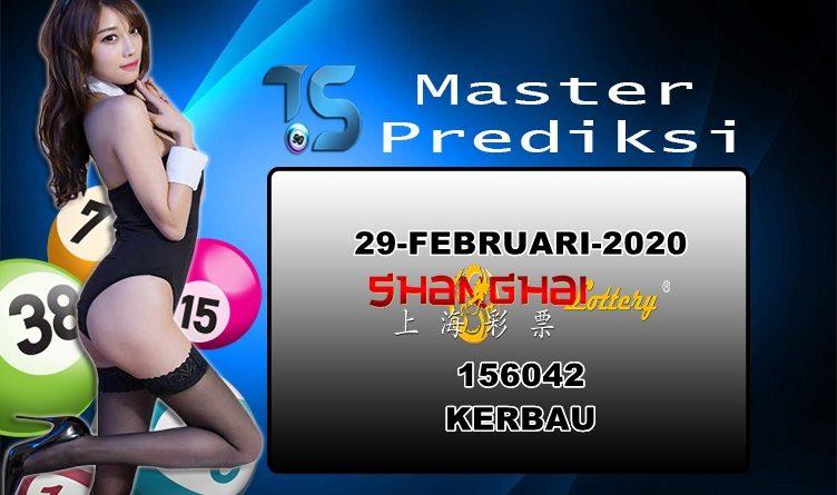 Prediksi Togel Shanghai 29 Februari 2020