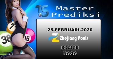Prediksi Togel Zhejiang 25 Februari 2020