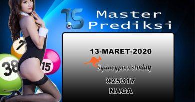 PREDIKSI-SYDNEY-13-MARET-2020