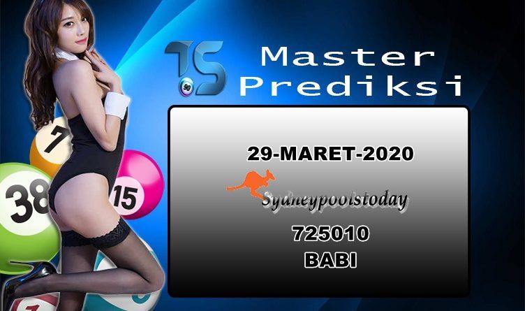 PREDIKSI-SYDNEY-29-MARET-2020