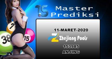 Prediksi Togel Zhejiang 11 Maret 2020