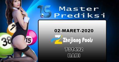 Prediksi Togel Zhejiang 02 Maret 2020
