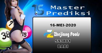 PREDIKSI-ZHEJIANG-16-MEI-2020