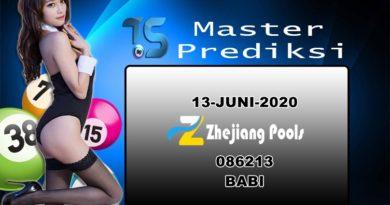 PREDIKSI-ZHEJIANG-13-JUNI-2020