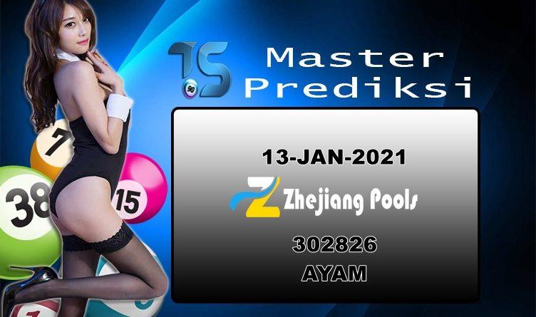 PREDIKSI-ZHEJIANG-13-JANUARI-2021