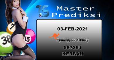 PREDIKSI-SYDNEY-03-FEBRUARI-2021