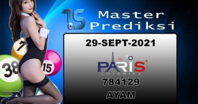 Prediksi Togel Paris 29 September 2021